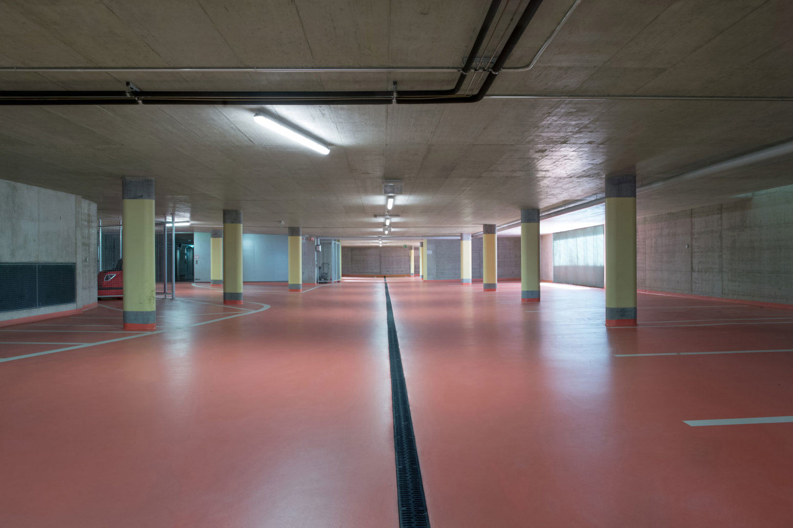 Parking communal à Crissier