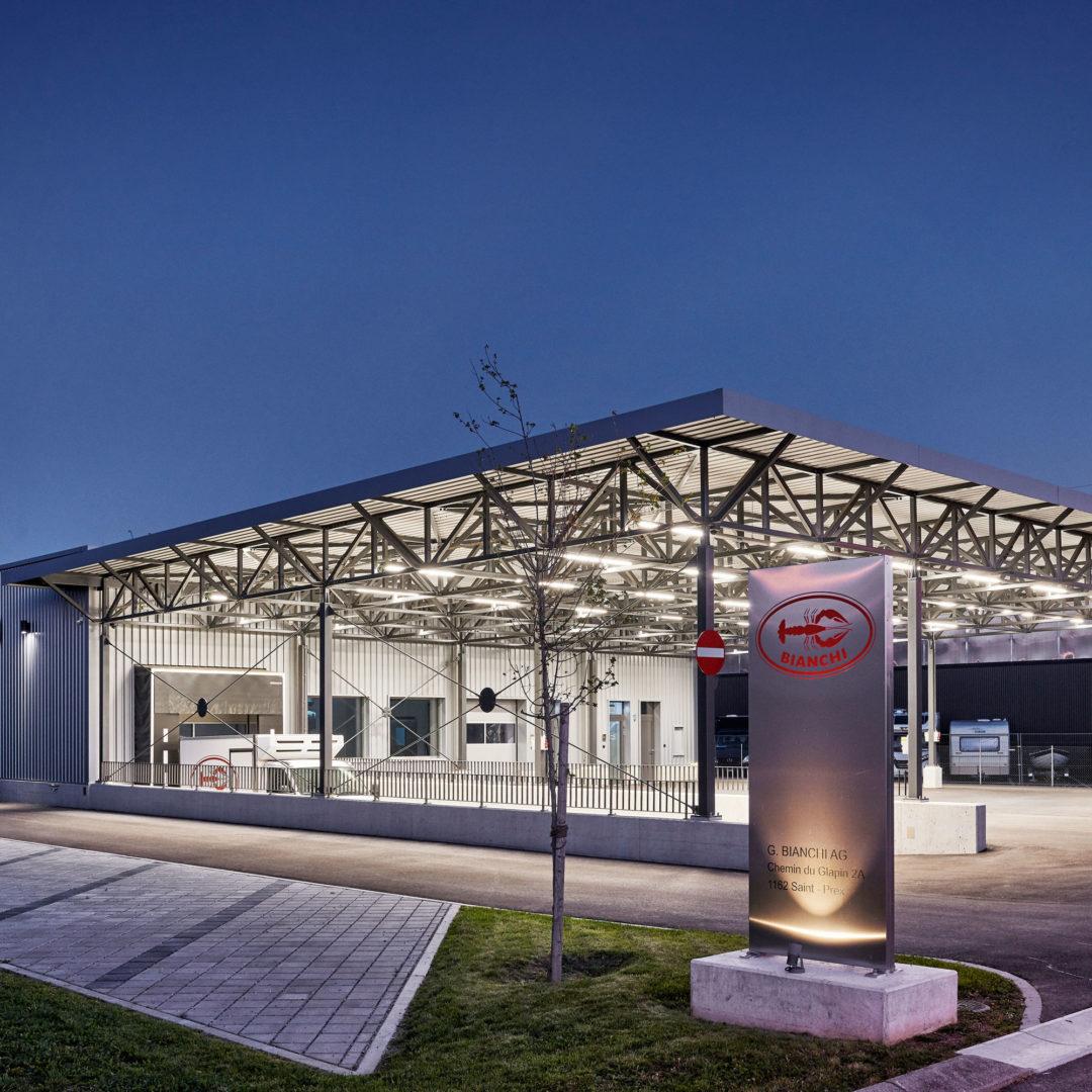 Centre logistique G.Bianchi SA